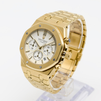 DIDUN watch Men Top Brand Luxury Quartz Watch Rosegold Chronograph Watch Shockproof 30m Waterproof Wristwatch