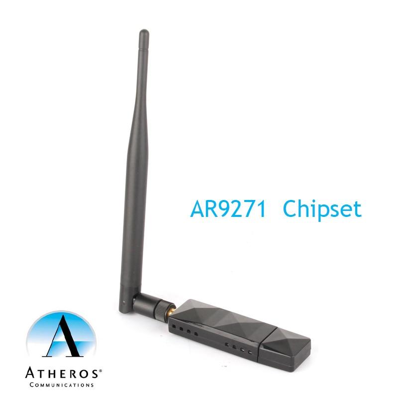 Atheros AR9271 802.11n 150 Мбит/с беспроводной USB WiFi адаптер 5dBi антенна для Kali Linux/Windows XP/7/8/10/Roland Piano