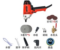 900 watt electric marble granite wet stone polishing machine manual grinder water mill adjustable speed