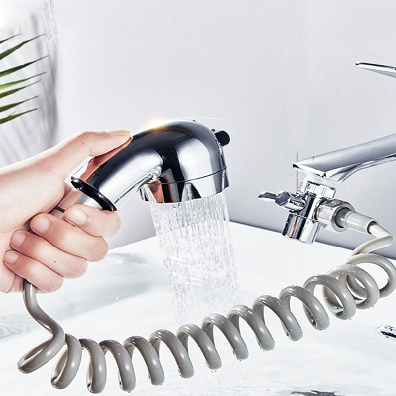 New Arrival High Pressure Water Saving Washing Hair Basin Faucet External Shower Head Bathroom Handheld Washing Hair Artifact 3