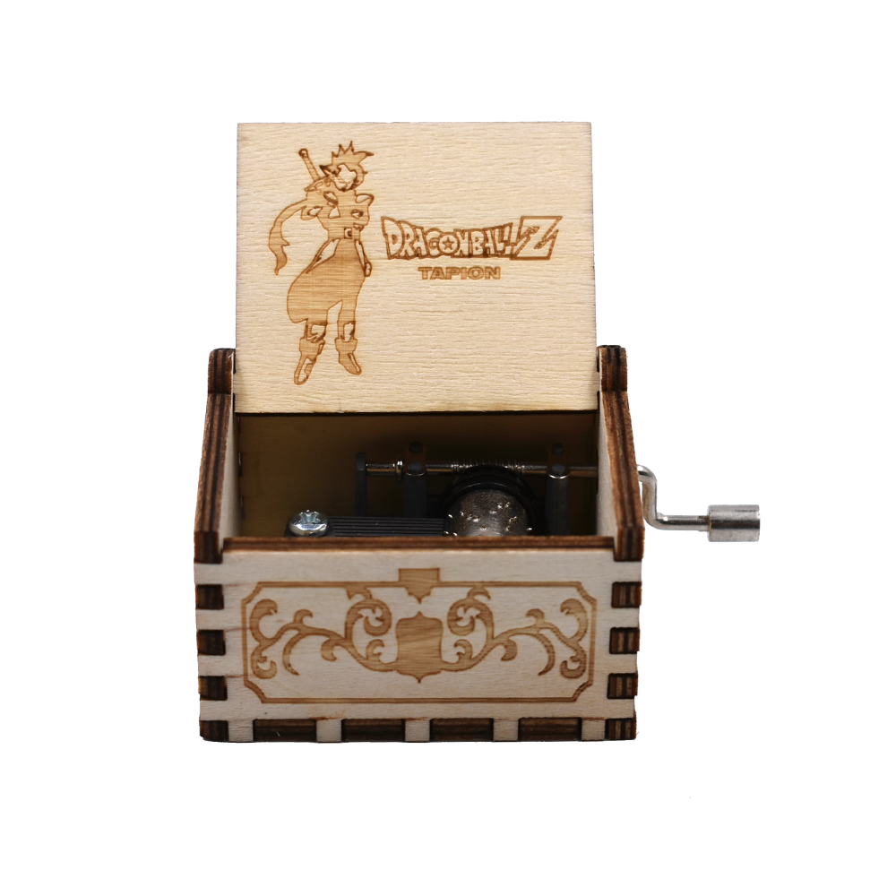 Child Birthday Souvenir Gifts Dragon Ball Z Hand Crank White Color Music Box Dropshipping Game of Thrones Music Box Star Wars