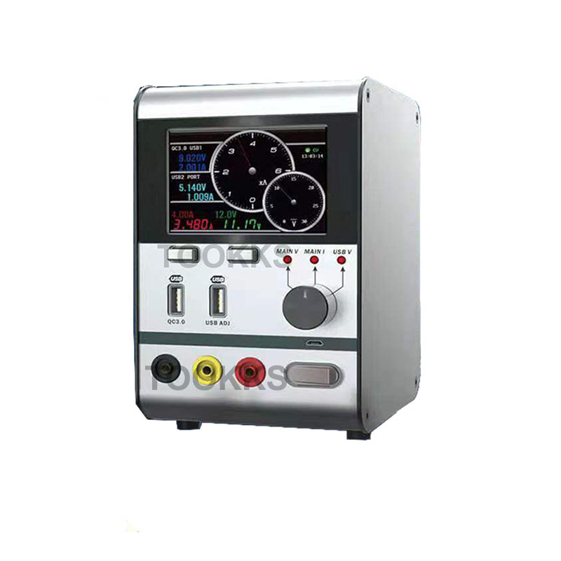 HR3006 Updated From HR1203 30V 6A  Intelligent Voltage Regulator Current Power Meter 6A Current Oscilloscope For Phone Repair