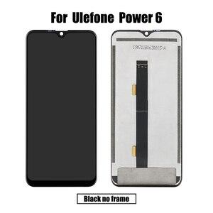 Image 5 - BingYeNingสำหรับUlefone Power 6 LCDและTouch Screen Digitizerกรอบหน้าจอโทรศัพท์อุปกรณ์เสริมเปลี่ยนเครื่องมือ
