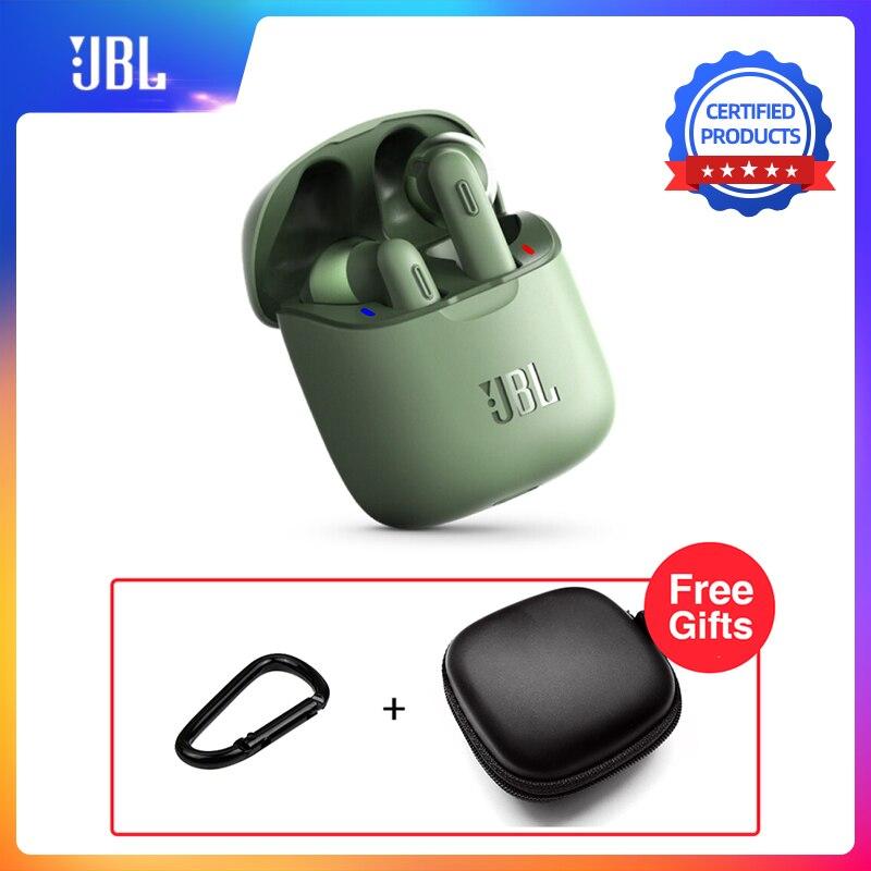 Наушники JBL Tune 220TWS Bluetooth V5.0, беспроводные наушники вкладыши с стереозвуком и зарядным устройством, T220 TWS, беспроводные звонки