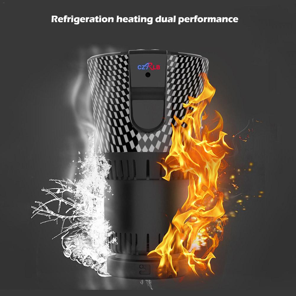 12V Beer Cup Smart Car Cup Hot And Cold Cup Fast Cooling Heating Portable Car Mini Refrigerator