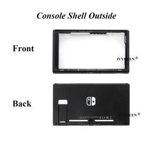 Image 5 - IVYUEEN Animal Crossing na przełącznik konsoli Nintendo wymienna obudowa Shell przednia obudowa tylna na przełącznik do Nintendo płyta czołowa skóra