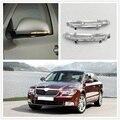 Для Skoda Superb MK2 2008 2009 2010 2011 2012 2013 2014 2015 Автомобильное Зеркало  светодиодный индикатор поворота