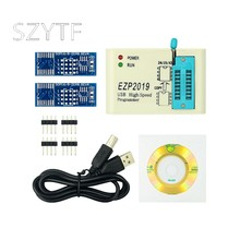 Ezp2019 alta velocidade spi flash programador programação replicação offline 24/25/93 bios 25t80