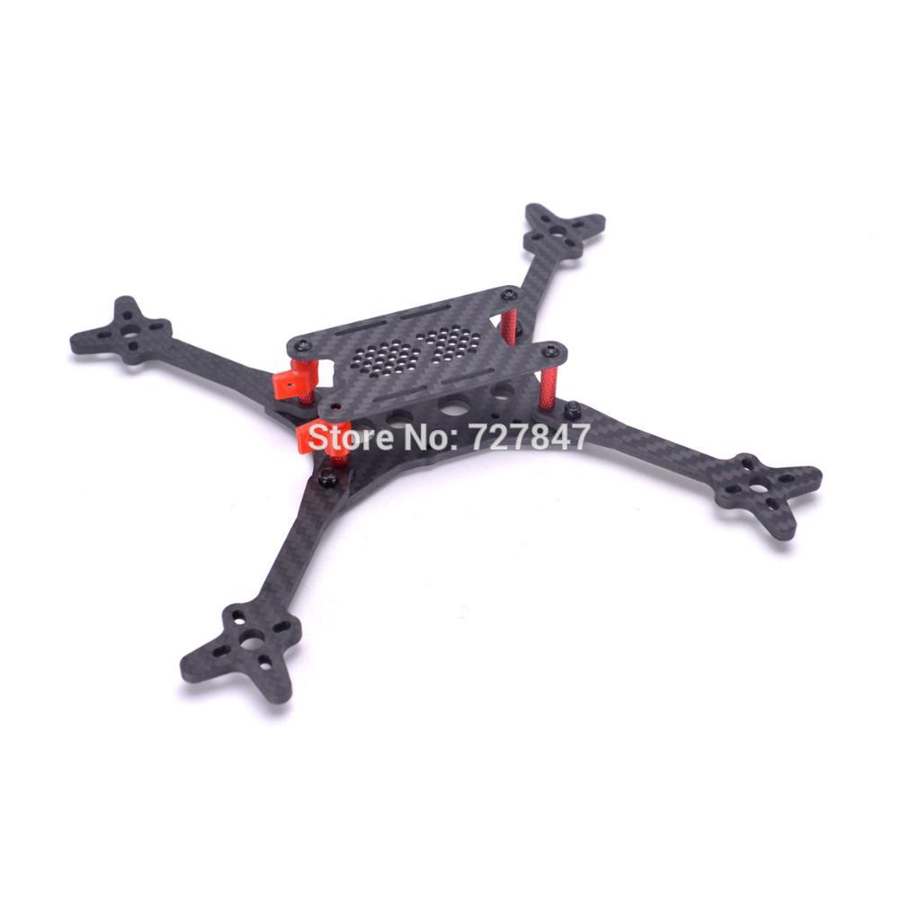 New FLOSS 2 5 inch 215 215mm FPV Carbon fiber Quadcopter frame with 4mm arm for FPV Racing drone Quadcopter