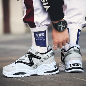 Image 4 - 2019 Harajuku סתיו בציר סניקרס גברים לנשימה רשת נעליים יומיומיות גברים נוח אופנה Tenis Masculino Adulto סניקרס