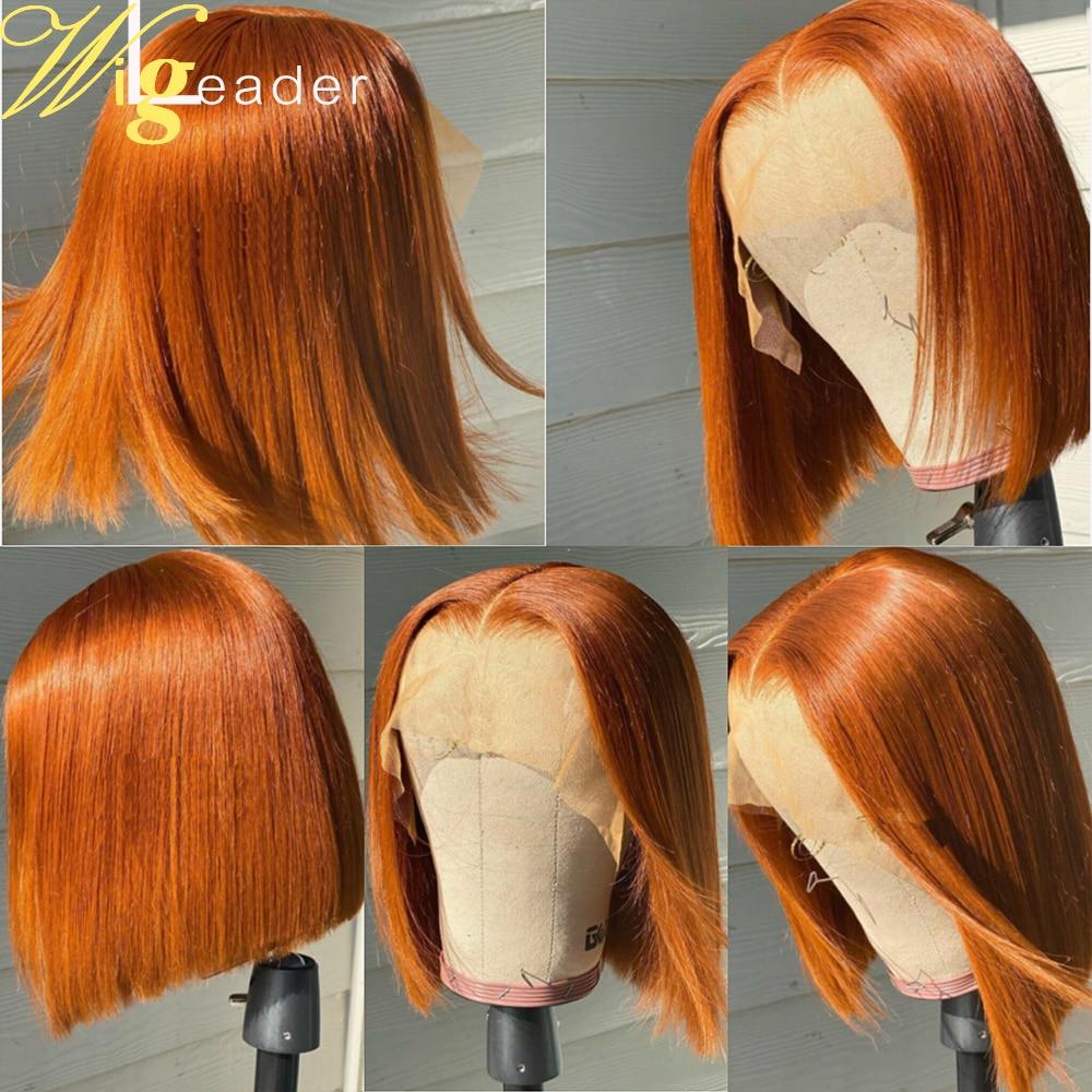 Peruca de cabelo humano frontal, peruca de verão peruca com