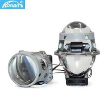 "3.0"" Bi LED Projector Lens 3R G5 Built in Inverters High Low Beam 6000K for Universal Car Headlight Retrofit"