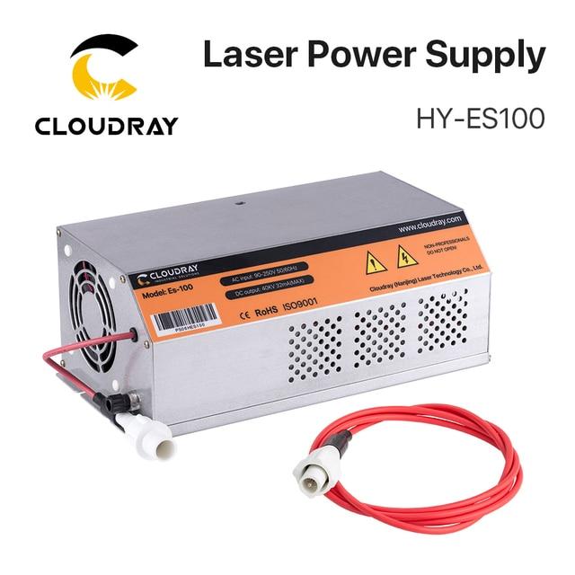 Cloudray 100 120W HY Es 100 Es Serie CO2 Laser Netzteil für CO2 Laser Gravur Schneiden maschine