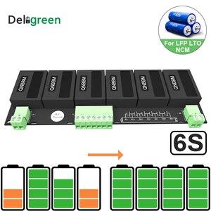 Image 1 - QNBBM 6S Active Battery Equalizer BMS Balancer for LIFEPO4,LTO,Polymer ,LMO,LI NCM LI ion Battery 18650 DIY Pack