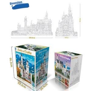 Image 4 - جديد 13500 قطعة حجر البجعة الألماني NeuSchwanstein نموذج قلعة لعب الأطفال فكرة Streetview اللبنات الطوب خبير الخالق هدية