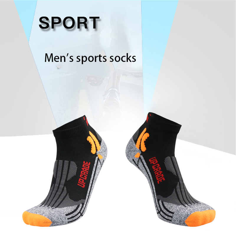 UG Coolmax Running Cotton Compression Socks Outdoor Cycling Breathable Basketball Ski Socks thermal socks in Running Socks from Sports Entertainment
