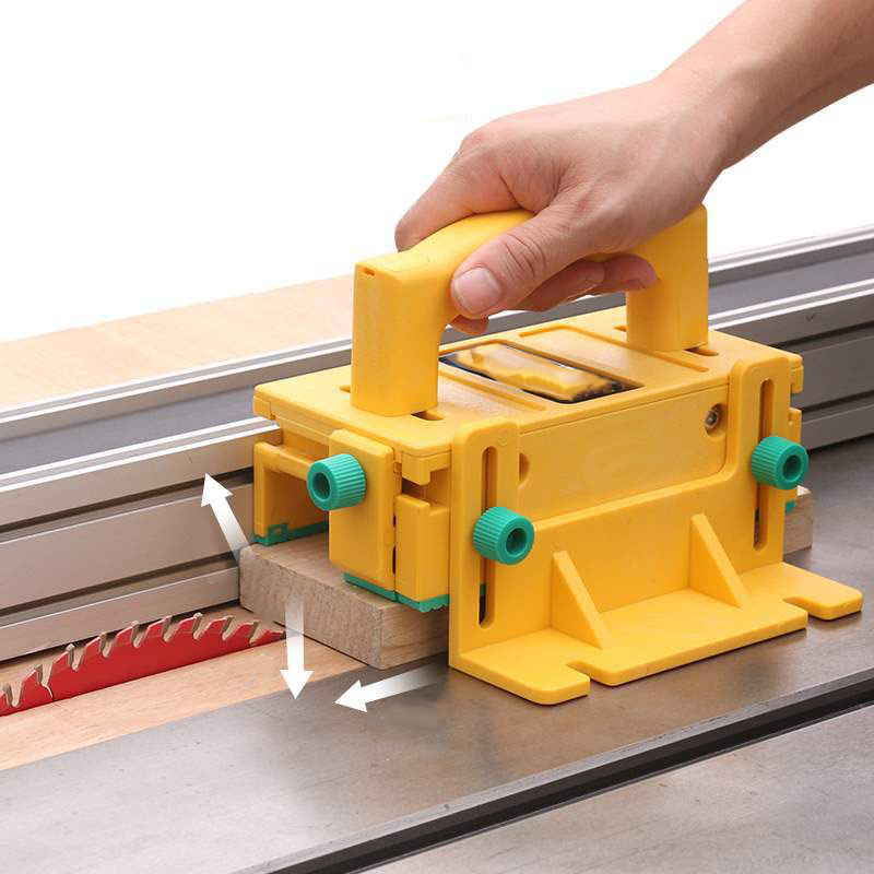 New Safety Pusher Assistant Tools Woodworking Flip Table Saw Vertical Milling Planer Saw Pusher Safety Feeder Woodworking