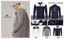 K.2019 golf apparel mens spring and autumn long-sleeved clothes