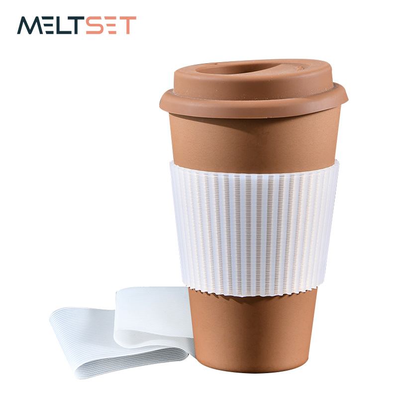 Silicone Cup Sleeve Heat Insulation Bottle Sleeves Non-slip Mug Sleeve Glass Bottle Cover For Mugs Ceramic Coffee Cups Wraps