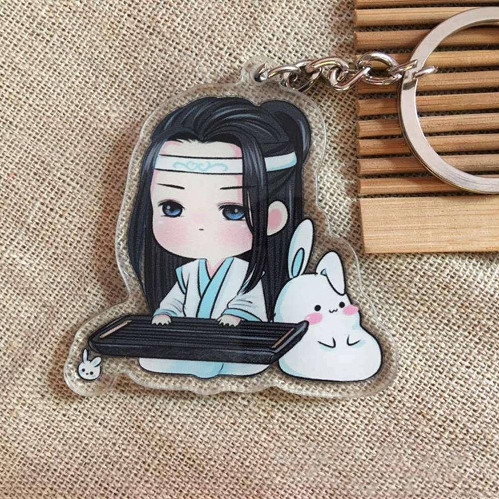 Mo dao zhu shi Wu Ying Lan Zhan JiangCheng Portachiavi porte-clés pendentif porte-clés