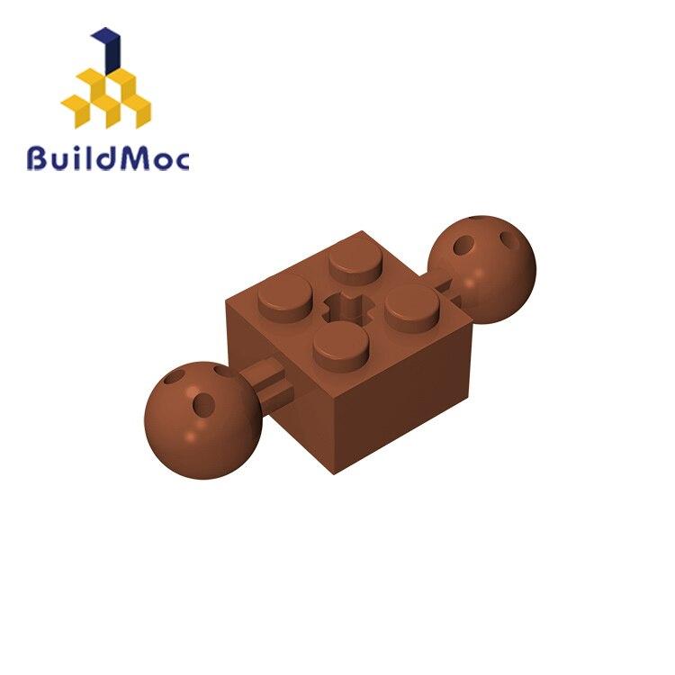 BuildMOC Assembles Particles 17114 Technic Brick Modified 2 X 2 For Building Blocks Parts DIY  Educational Gift Toys