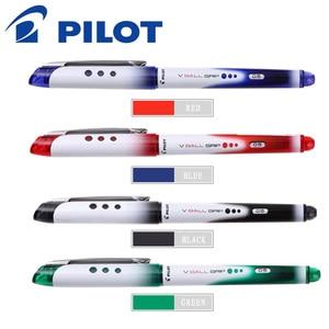 Image 1 - 2019 PILOT V BALL GRIP Pen 6 Pieces 0.5mm BLN VBG5 New Verbatim Pen Ink Pen Quick Dry Color Rich Writing Smooth