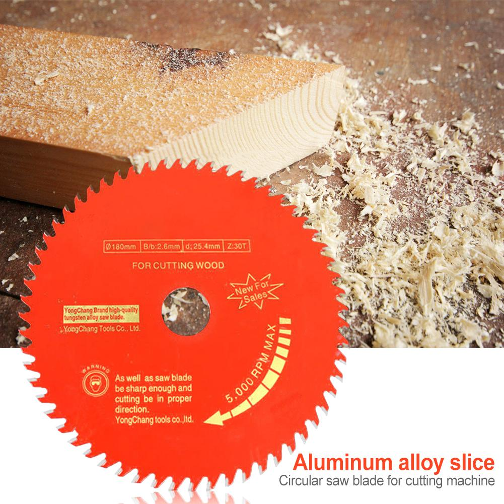 Woodworking Cutting Tool Saw Blade Aluminium Alloy 30/40 Teeth Sharp Durable Anti-Stamping Tipped Wood Cutting Disc 20mm