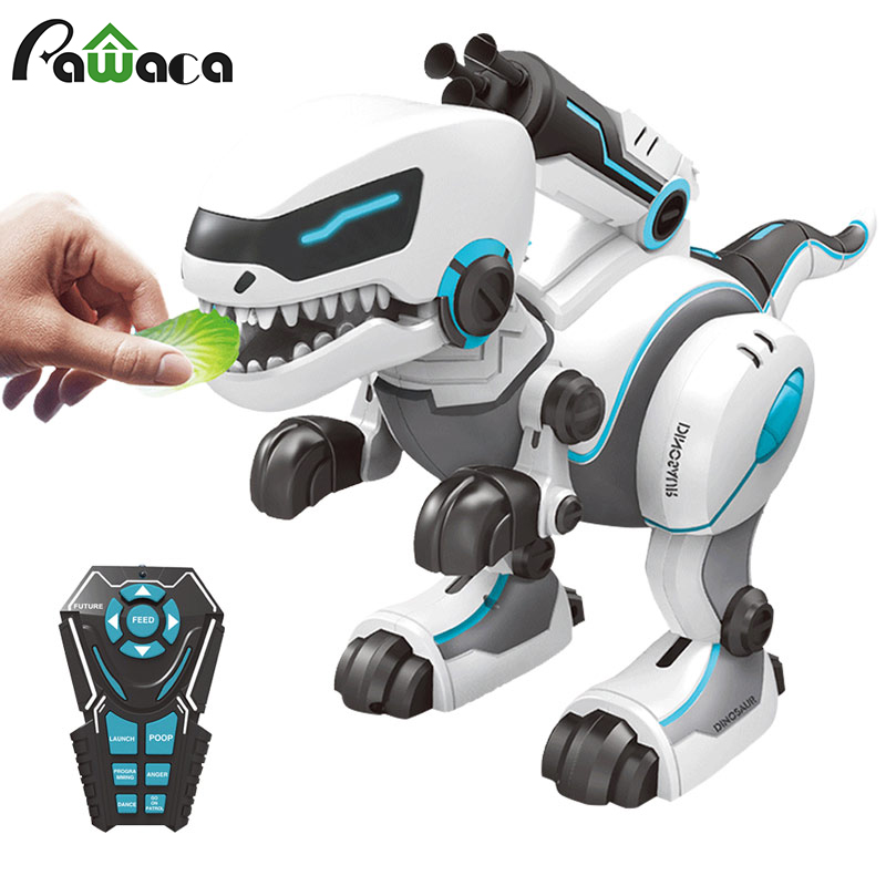 Remote Control Dragon RC Light Up Dinosaur Toys Robot Dinasors Toys For Boys Robot Remote Control Toys Robots For Kids 5 And Up