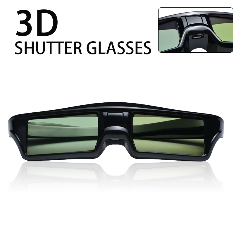 Portable bluetooth Rechargeable Active Shutter <font><b>3D</b></font> Glasses Fit For <font><b>Samsung</b></font>/Sony/Sharp/Toshiba/Konka/<font><b>3D</b></font> <font><b>TV</b></font> Projector image