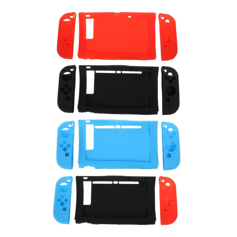 Protective Cover Silicone Case Skin Left Right Dustproof Shockproof Shell Game Accessories for Nintend Switch NS Joy-Con Console
