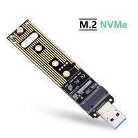 ZEXMTE M.2 NVME USB 3.1 Adapter M-Key M.2 NGFF NVME to USB Card High Performance 10 Gbps USB 3.1 Gen 2 Bridge Chip Support 2230