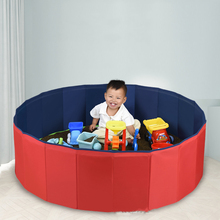 Cassia Seed Toy Sand Children's Home Folding Ball Pool Toy Indoor Fence Baby Pool Wave Ball Game Colorful Ball Baby Playpens