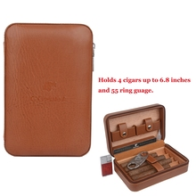 The latest Version of Cohiba Leather Cigar Case Portable Ced