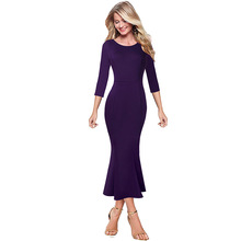 Vfemage Womens Elegant Vintage Pinup Floral Print Lace Business Casual Cocktail Party Wedding Bodycon Mermaid Pencil Dress 2787
