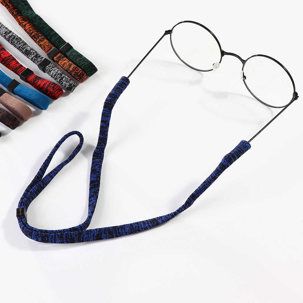 Elastico nero Occhiali Da Vista Cavo Regolabile Occhiali Cordicelle Al Collo Stringa del Cavo di Fermo Della Cinghia Della Fascia per la Testa di Occhiali Occhiali Occhiali occhiali da sole cavo