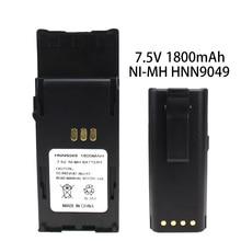 цена на HNN9049 2-Way Radio Replacement Battery , Ni-MH 1800mAh for Motorola Radius P1225 Radio