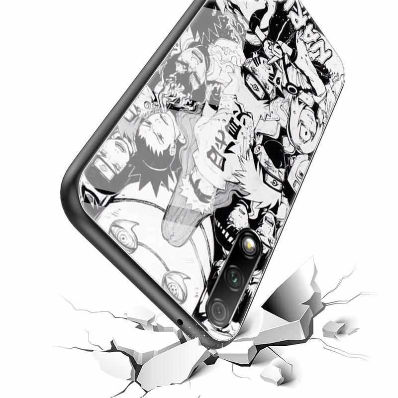 Kılıf için Huawei onur 20 30S 30 Pro artı 10 Lite 8X 9X oyun 9A Y9 Y6 Y7 2019 cam telefon Coque