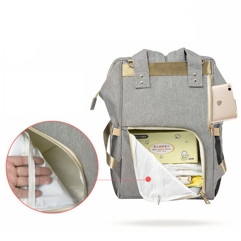 Fashion Mummy Maternity Nappy Bag Waterproof Diaper Bag With USB Stroller Travel Backpack Multi pocket Nursing Fashion Mummy Maternity Nappy Bag Waterproof Diaper Bag With USB Stroller Travel Backpack Multi-pocket Nursing Bag for Baby Care