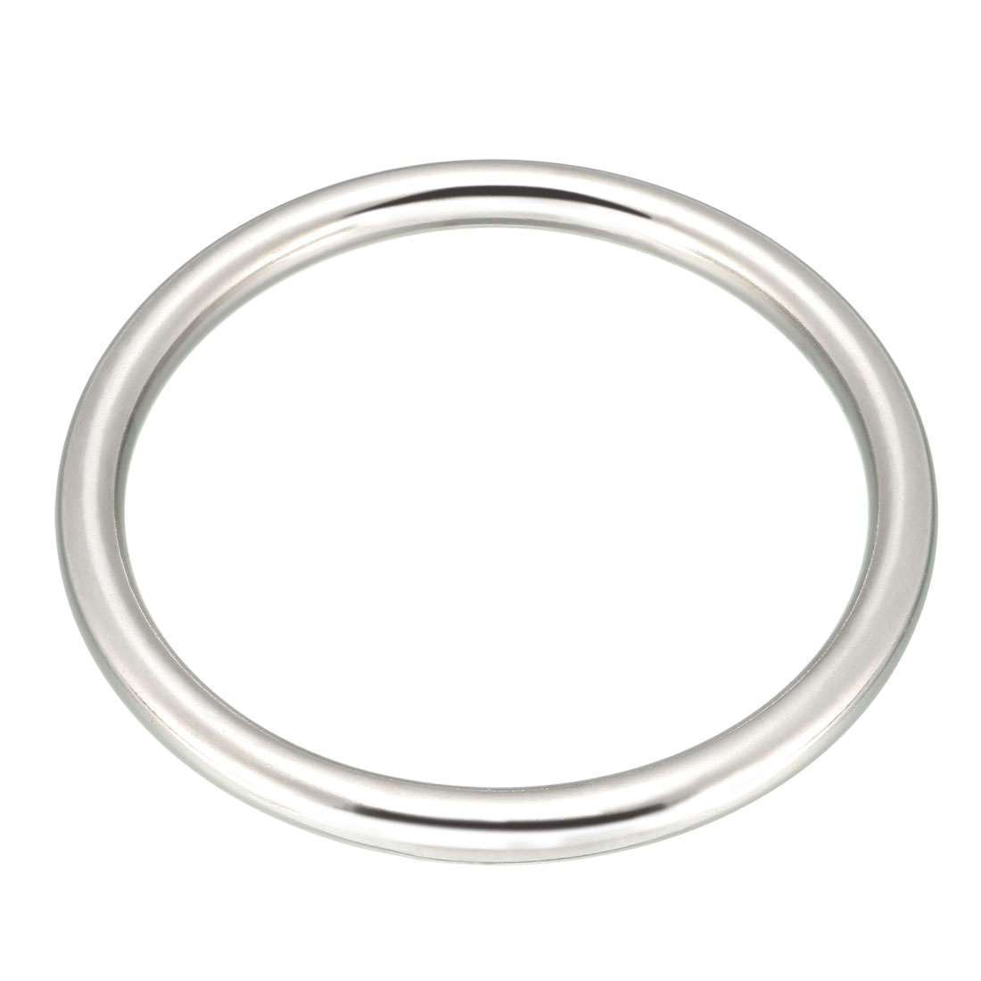 Uxcell New Hot 10pcs Multi-Purpose Metal O Ring Buckle Welded For Hardware Bags Ring Hand DIY Accessories 31mm X 25mm X 3mm