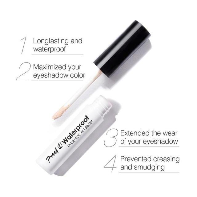 Liquid Waterproof Eyeshadow Eye Primer Moisturizing Base Makeup Cream Eyeshadow Base Primer 4