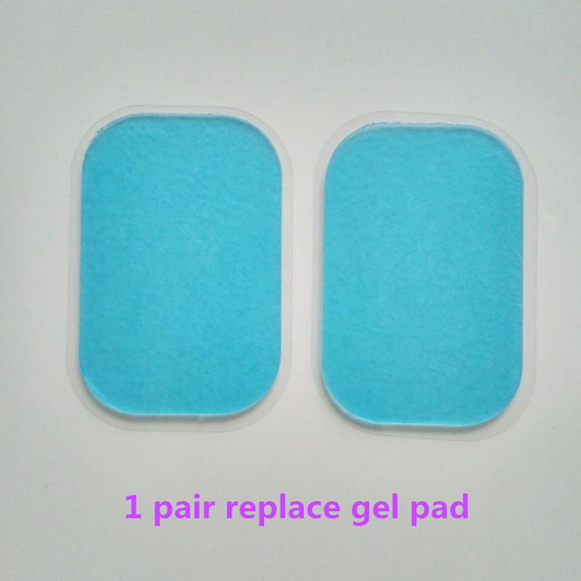 Replacement Gel Pads For EMS Trainer Transparent Gel Sheet Electrode Pad for Abdominal muscle ABS stimulator Replacement Gel pad 1