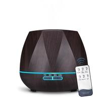 500ML Remote Control Air Humidifier Essential Oil Diffuser Humidificador Mist Maker LED Aroma Diffusor Aromatherapy