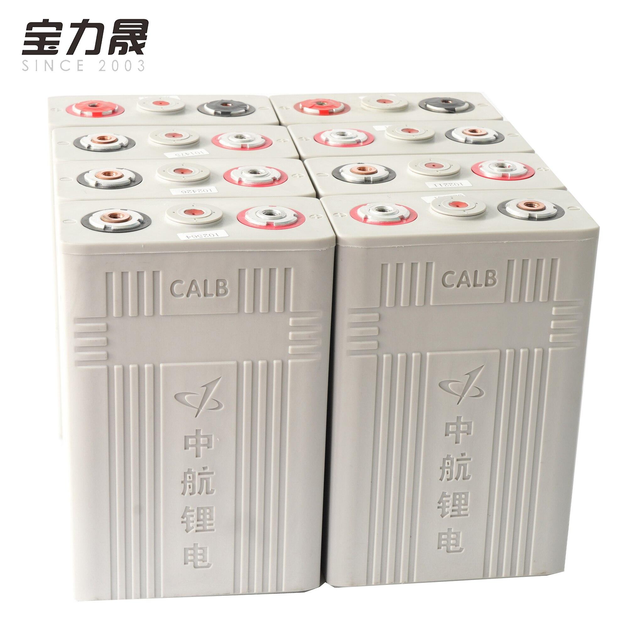 3.2v100ah Lifepo4 batterie 8 pièces CALB 12V200AH 24V100Ah CA100 batterie haute capacité pour RV solaire US ue royaume-uni sans taxe UPS FEDEX