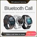 KSUN KSR909 Bluetooth telefon Band Mit Herz rate Monitor EKG Blutdruck IP68 Fitness Tracker Wrisatband Smart Uhr-in Smart Watches aus Verbraucherelektronik bei