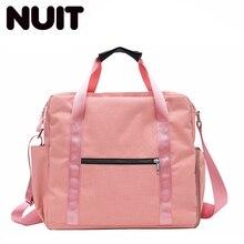 Women Sports Gym Bags Fashion Nylon Training Duffel Bag For Female Shoes Dry And Wet Travel Handbag Luggage Bbagsmart