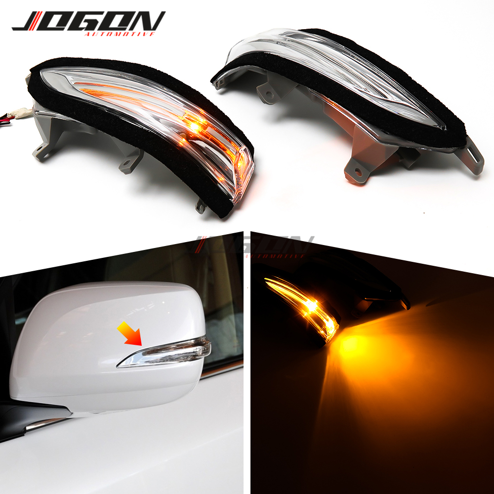 LED Car Side Rearview Mirror Flash Light Turn Signal Lamp For Lexus LX570 2012-2019 LX460 LX450D GX460 <font><b>GX400</b></font> image