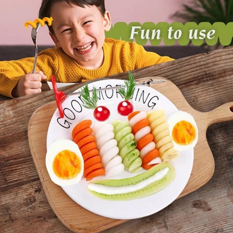 Rotating Machine Manual Magic Roller Spiral Slicer Radish Potato Carrot Vegetables Fruit Spiral Cutter Kitchen Tools Gadgets