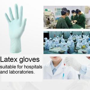 Image 3 - 20 50 100 Pcs Disposable Nitrile Safety Gloves Protective PVC100 Rubber Anti Dust Waterproof Non Contact Work Kitchen Gloves