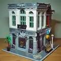 15001 Baksteen Bank Schepper Serie Stad Street Model 2413Pcs Bouwstenen Bricks Speelgoed Compatibel met 10251 Gift Voor Kinderen