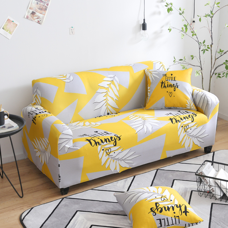 Nordic Style Sofa Cover Stretch Elastic Tight Wrap All inclusive Sofa Slipcovers Slip resistant Couch Cover For Living Room in Sofa Cover from Home Garden